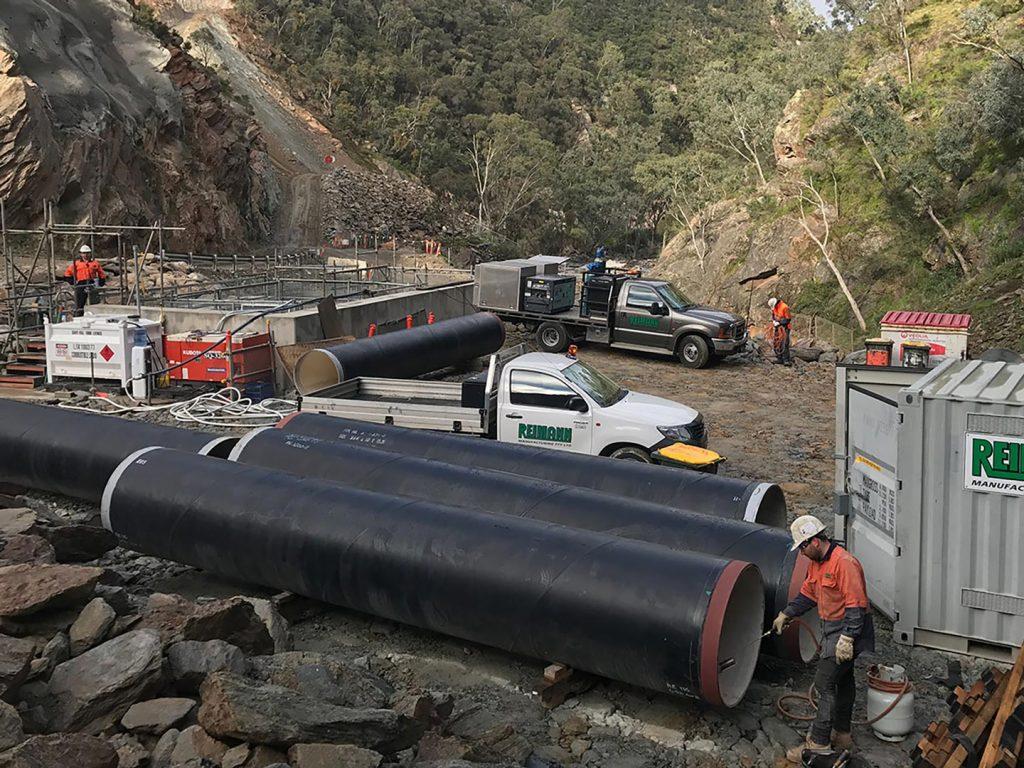 Kangaroo Creek Dam Safety Upgrade 1440x1080px