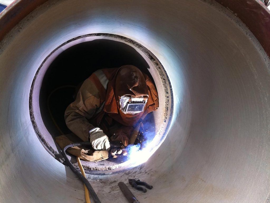 MSCL site welding 4